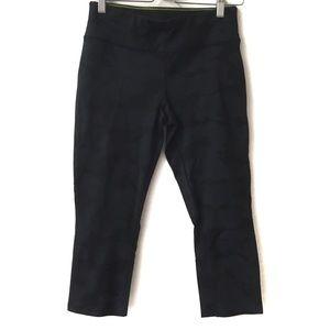 Calvin Klein Performance Capri pant solid black M